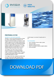 Reverse osmosis systems for industries and laboratories