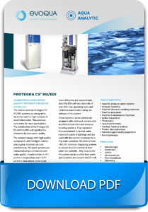 System of water treatment and water purification with reverse osmosis
