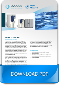 Water purification and Water Treatment Systems Ultra Clear RO