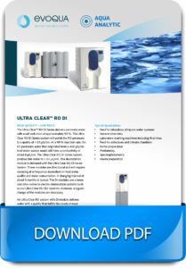 System for obtaining ultrapure laboratory water