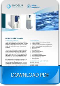 Ultrapure Water Treatment System
