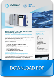 Laboratory ultrapure water production systems