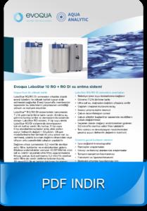 laboratuvar ultra saf su cihazı LaboStar
