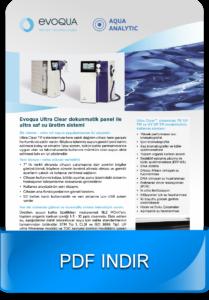 Ultra Clear ultra saf su üretim sistemi